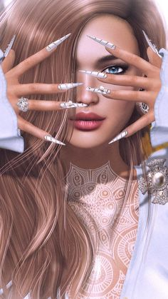 3d, 3D art, art, art girl, artists, background, beautiful, beautiful girl, beauty, beauty girl, cinema4d, design, drawing, fashion, fashionable, girl, illustration, illustration girl, inspiration, luxury, makeup, wallpapers, we heart it, woman, beautiful | girl, cute and fashion