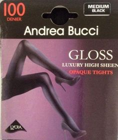 Pantyhose & Tights Lower Price with Andrea Bucci 30 Denier Semi Opaque Slight Sheen Tights 3 Color Choice