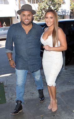 The Real's Adrienne Bailon and Israel Houghton Celebrate Their Love at Mr. Adrienne Bailon Wedding, Adrienne Bailon The Real, Hollywood Couples, Celebrity Couples, Beautiful Couple, Beautiful Women, Blond, Israel Houghton, Mr And Mrs Wedding