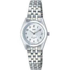 Buy Watch Online - [シチズン キューアンドキュー]CITIZEN Q 腕時計 スタンダード アナログ表示 10気圧防水 シルバー G567-704 レディース   最新の時間センター