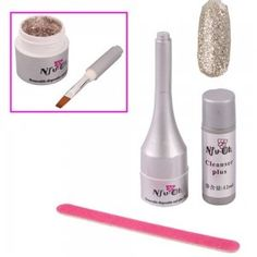Glitter Nail Art Soak off UV Gel Polish   Nail File Peru * You can find more details by visiting the image link.