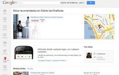 Google+ Local, un nuevo espacio en la red social de Google.