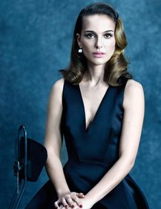Natalie Portman, so talented and smart. Love her confidence. One of the few actresses that has managed to stay away from scandals and paparazzi. Also, from unnecessary plastic surgery.