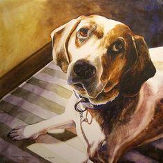 """Dougal"" - Original Fine Art for Sale - © Kara K. Bigda"