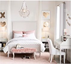 Bedroom Furniture Grey, blush and gold bedroom. Modern bedroom design for teenagers. (Cool Bedrooms For Teenagers)Grey, blush and gold bedroom. Modern bedroom design for teenagers. (Cool Bedrooms For Teenagers) Feminine Bedroom, Glam Bedroom, Modern Bedroom, Fashion Bedroom, King Bedroom, Trendy Bedroom, Bedroom Curtains, Bedroom Romantic, Bedroom Girls