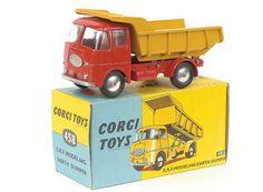 Mettoy Corgi diecast No.458 ERF Earth Dumper 1958-66