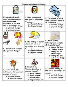 physical to chemical changes   Physical And Chemical Change Examples:                                                                                                                                                      More