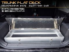 Trunk flat deck type 2 jimny wide Sierra