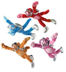 flying-space-monkeys, set of 4-$25