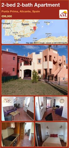 Apartment for Sale in Torrevieja, Alicante, Spain with 2 bedrooms, 2 bathrooms - A Spanish Life Apartments For Sale, Valencia, Portugal, Spanish Holidays, Torrevieja, Alicante Spain, Best Location, Ground Floor, Palmas