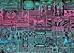 Funky African Pattern.