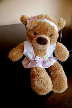 DIY  Teddy Bears-Great shower gift