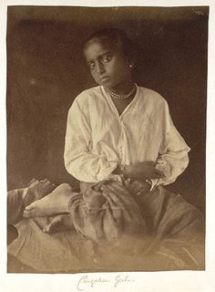 Girl, 1875 - 1879Julia Margaret Cameron (June 11, 1815 – January 26, 1879) was a British photographer. She became known for her portraits of celebrities of the time, and for Arthurian and similar legendary themed pictures.