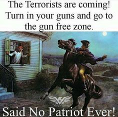 I'm surrounded by idiots. You guys don't get it, if we turn in our guns we. Are. Going. To. Die.