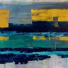 Floating, Acrylic on canvas, 100 x 100 cm, Bjørnar Aaslund 2015