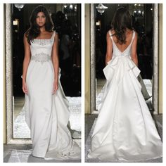 The Oleg Cassini Wedding Dress Collection Fall 2015 #classic #timeless #elegance #elegant The Signature Bow