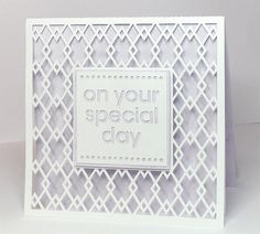FREE SVG + cut files on your special day card background card 2
