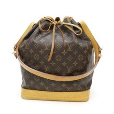 Louis Vuitton Noe  Monogram Shoulder bags Brown Canvas M42224