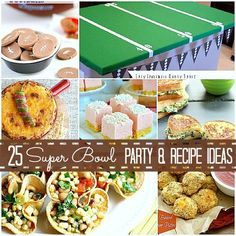 Looking forward to the BIG game?? The countdown's on, and I love the festive party maybe even more than the game (haha)! Here are 25 fabulous recipe and party ideas that were linked up to the party this week — to get YOU ready for the big game!!
