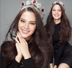 Beauty Talks with Catriona Gray, Miss World Philippines 2016 . Miss Universe Philippines, Miss Philippines, Pageant Crowns, Filipina Beauty, Asian Hair, Miss World, Beauty Pageant, Makeup Forever, Grey Fashion