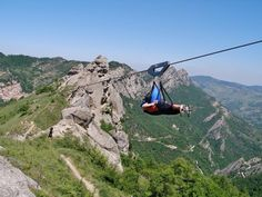 Flight of the Angel, Basilicata, Southern Italy. Fantastic experience - TICKED