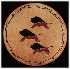 Hand painted Limited Edition BUFFALOES drums Native American Indian artifacts Native American Decor, Native American Symbols, Native American Pottery, Native American History, Native American Indians, Sioux, Navajo, Drums Art, American Paint