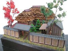 MadeToOrder Japanese Zen Garden House 144 Scale or N by EmmyNHiros