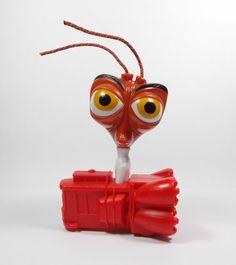 Monsters V Aliens - Dr. Cockroach - Action Toy Figure - Cake Topper - DreamWorks
