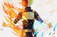 My Hero Academia (Boku No Hero Academia) #Anime #Manga Todoroki