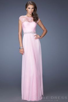 Trendy Sheath / Column Sweetheart Floor-length Appliques Prom Dress 2014 New Style