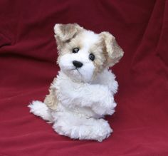 "SEWING PATTERN for a 10"" Jointed Puppy Dog Mohair Stuffed Animal Toy. $9.00, via Etsy."