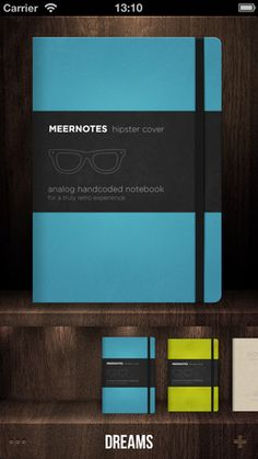 Meernotes for iPhone 3GS, iPhone 4, iPhone 4S, iPhone 5, iPod touch (3rd generation), iPod touch (4th generation), iPod touch (5th generation) and iPad on the iTunes App Store