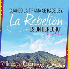 Más vigente que nunca. Hoy, mañana y siempre por VENEZUELA❤️ #TomaDeVenezuela #Venezuela #Libertad #ErikaTipoWeb #Repost @erikatipoweb