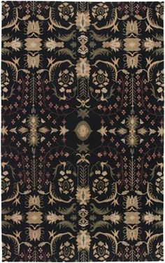 Premier Tibetan Hand Knotted Everest Collection by Surya. #ATGstores #Rug