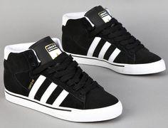 "Adidas Skateboarding Campus Vulc Mid ""Black/White"""