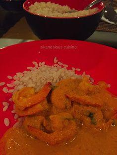 Sikandalous Cuisine: Sunil's Prawn Curry #sikandalouscuisine