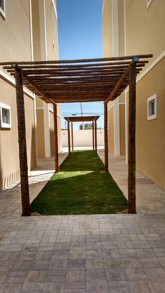 Redário. Espaço zen para montar redes e relaxar. Um pedacinho de verde e tranquilidade. Morada Real, Petrolina/PE.