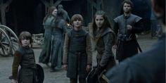 Young Benjen, Ned and Lyanna Stark at Winterfell *_* (Bran's flashback)