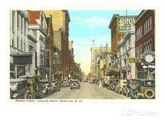 stone and thomas wheeling wv | Market Street, Wheeling, West Virginia Prints at AllPosters.com