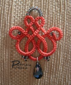 celtic tatting earring