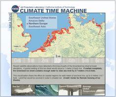 Zeespiegel, broeikaseffect e.a. Sites om de veranderingen zichtbaar te maken. Als de zeespiegel 3 meter stijgt, dan… « Manssen.nl - It's all in the Cloud!
