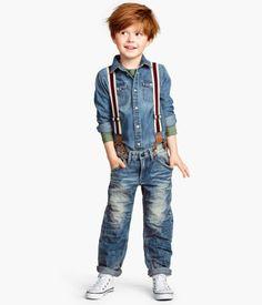 Finn needs these...and I love this little boys hair!