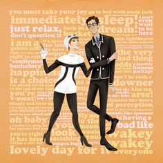 Sally and Arthur of We Happy Few Art Print by Michelle Tabares - X-Small We Happy Few, Are You Happy, Playing Games, Games To Play, Simon Says Game, Uncle Jack, Happiness Is A Choice, Drawing Lessons, Funny Images