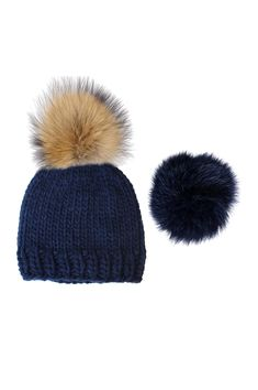 92e0b0c958c Milly Interchangeable Pom Pom Hat by Rose   Rose