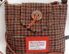 Harris Tweed Bag by LBeeUK on Etsy