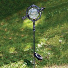 Solar Butterfly Garden Globe Dream Home Pinterest Garden