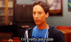 Abed 'Adorable' Nadir.  Community.  (Danny Pudi)