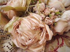 Fabric roses love