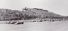 Pocono Raceway Track History Nice Vintage Photo