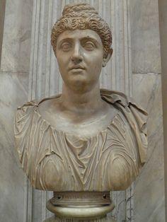 Colossal portrait of Faustina the Elder, 138-140 AD, Vatican Museums, Rome #TuscanyAgriturismoGiratola